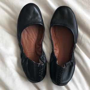 Lucky brand leather ballet flats size 8